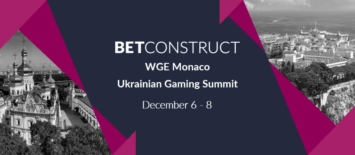 BetConstruct Attends WGE Monaco & Ukrainian Gaming Summit