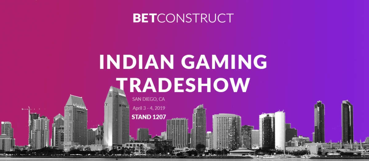 BetConstruct at the Indian Gaming Tradeshow 2019