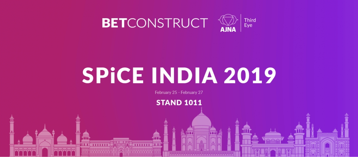 BetConstruct is Heading for SPiCE 2019