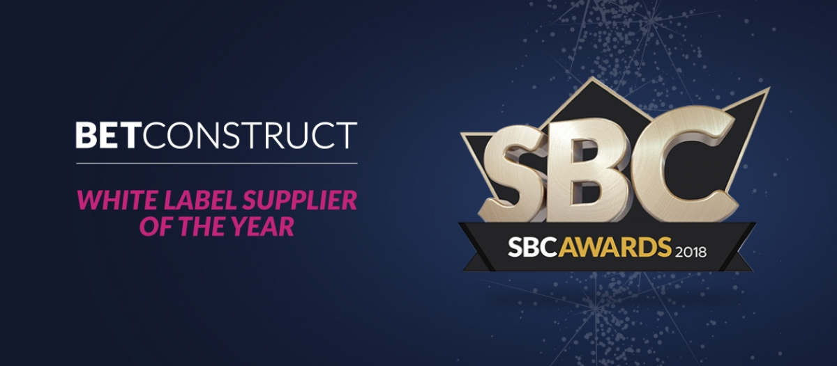 BetConstruct Wins at SBC Awards 2018