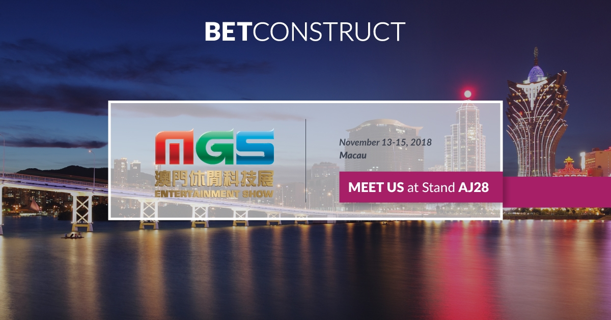 BetConstruct Offers Online Solution for Land-Based Casinos at MGS