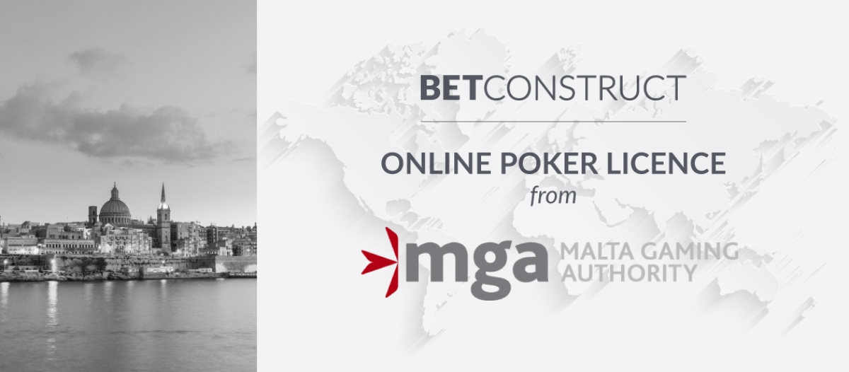 BetConstruct Enabled Poker Vertical under Its MGA Licence