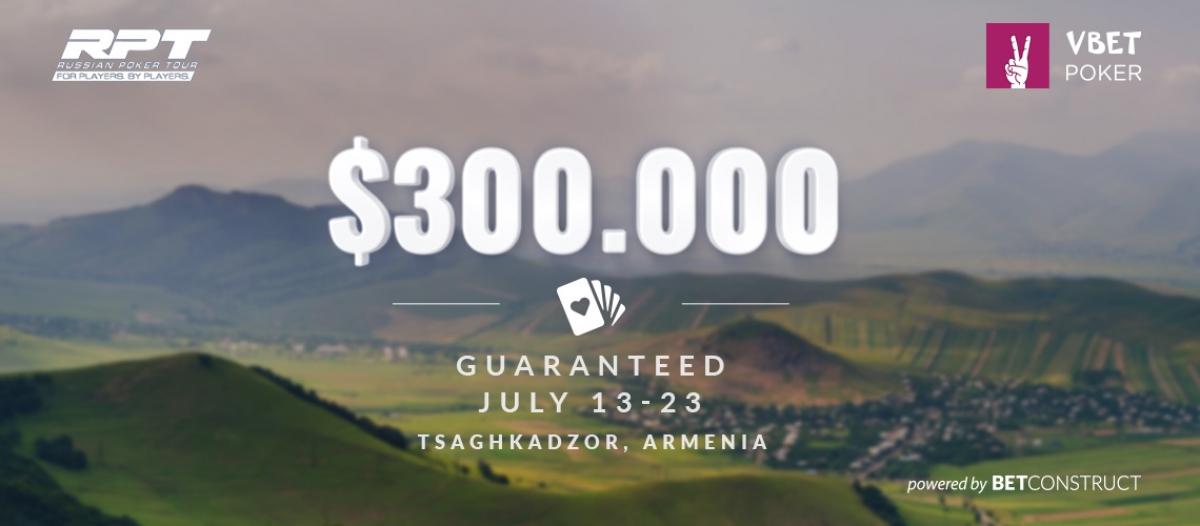 BetConstruct Powers Guaranteed Vbet Russian Poker Tour