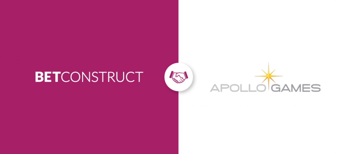 BetConstruct Integrates Apollo Games to Its Casino