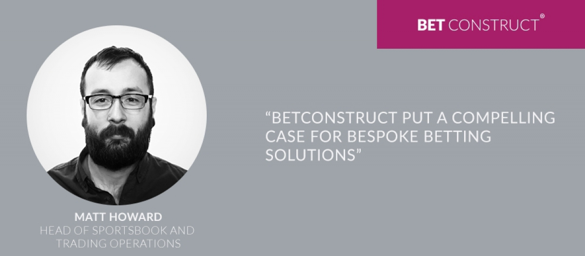 BetConstruct Put a Compelling Case for Bespoke Betting Solutions