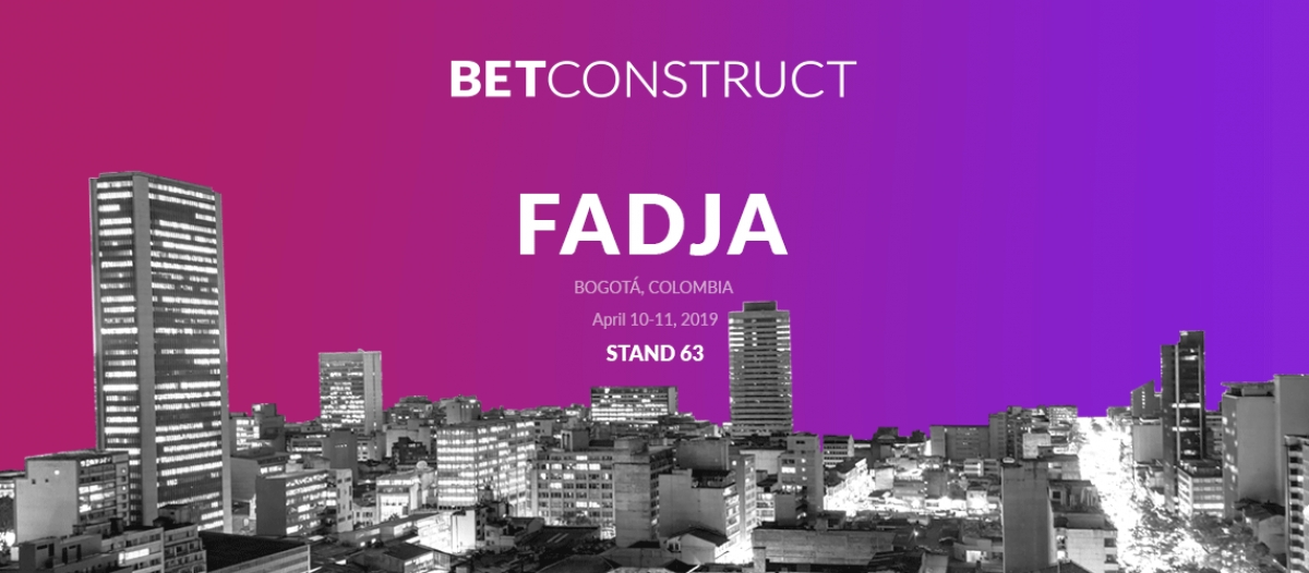 BetConstruct Presents Its Offerings at FADJA 2019
