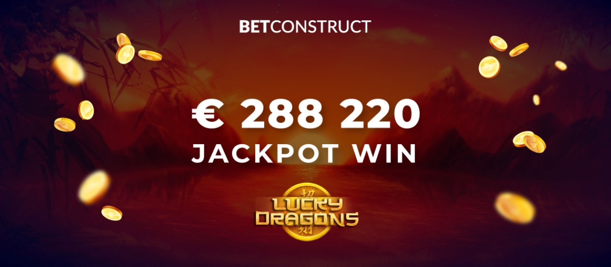 BetConstruct Incredible Jackpot Hit in Lucky Dragons