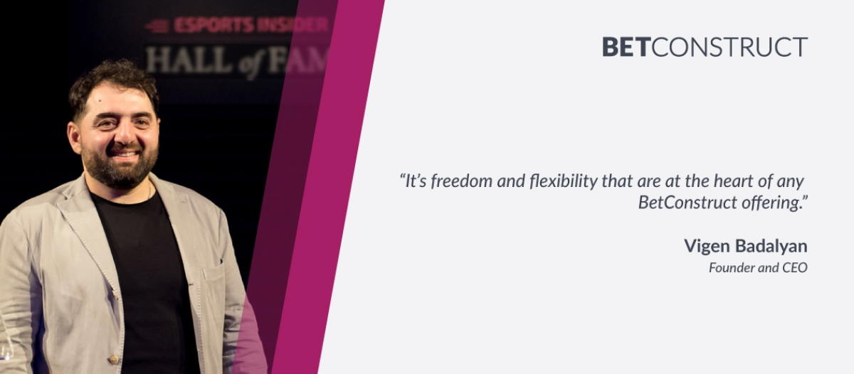 """""""Freedom & Flexibility"""" Central to BetConstruct Offers"""