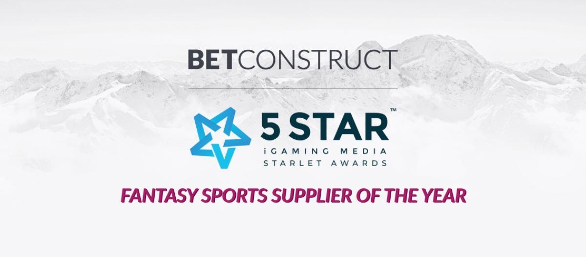 BetConstruct Is Best Fantasy Sports Supplier of 2018