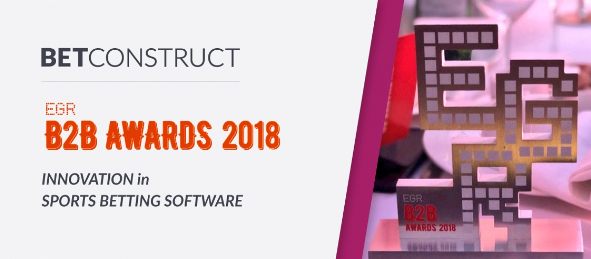 BetConstruct Wins the Innovation in Sports Betting Software Award at EGR