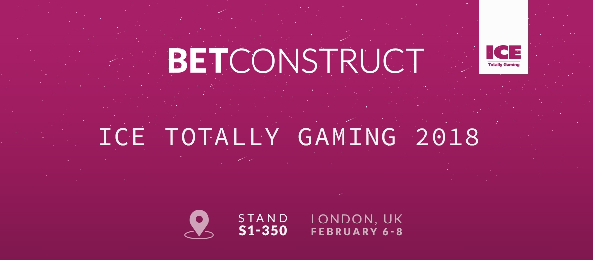 BetConstruct Gears up for ICE 2018