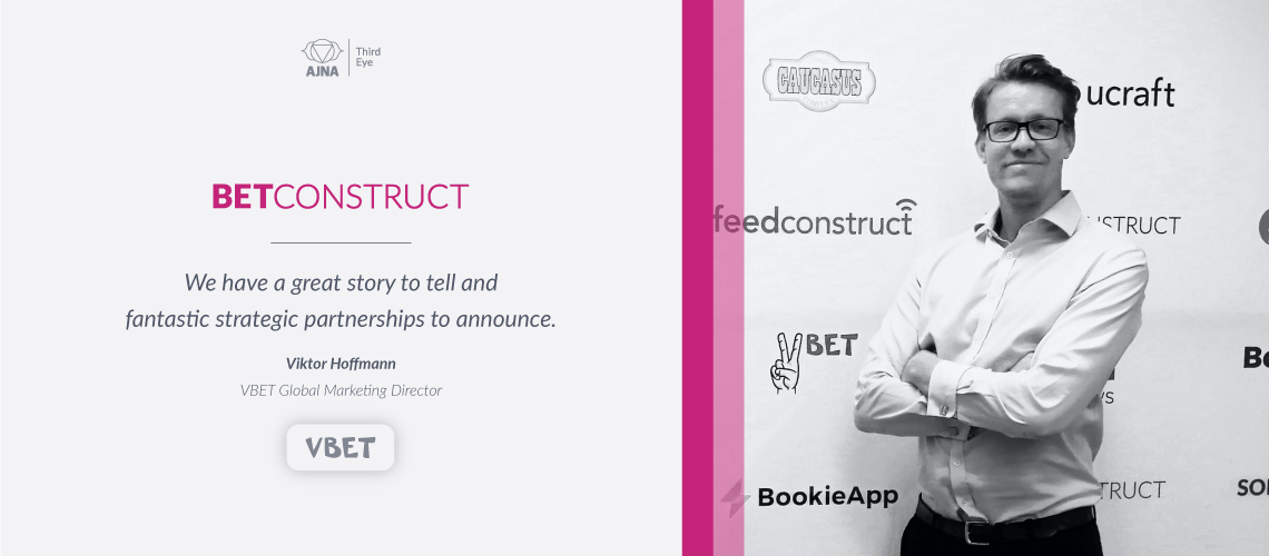 BetConstruct Appoints New Global Marketing Director for VBET