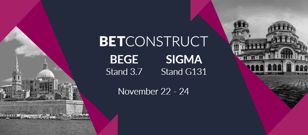 BetConstruct to Attend SIGMA and BEGE