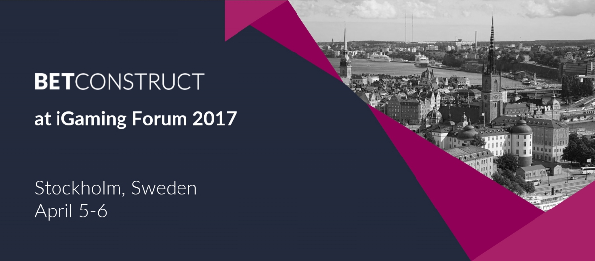 BetConstruct at iGaming Forum 2017