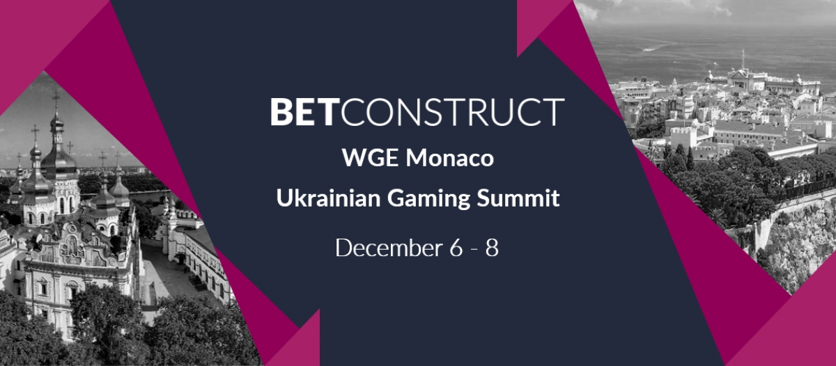 BetConstruct Attends WGE Monaco & Ukrainian Gaming Summit